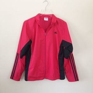 Adidas Full Zip Track Jacket Windbreaker L